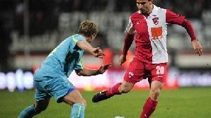 Dinamo-FC Vaslui 1-1, în etapa a 17-a