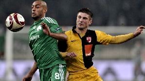 Dinamo nu a reuşit să puncteze la Atena, unde avea nevoie de două goluri
