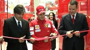 Pilotul de Formula 1 Giancarlo Fisichella, încântat de Bucureşti