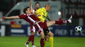 Rapid şi FC Braşov se întâlnesc în penultima etapă a turului Ligii I.