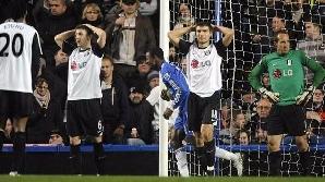 Fulham a fost mitraliată în două minute