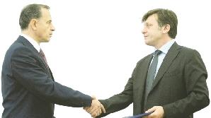 Mircea Geoană şi Crin Antonescu