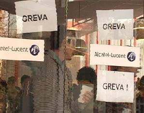 Angajaţii de la Alcatel Timişoara, în grevă generală