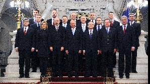 Guvernul Boc IV - prima fotografie de grup