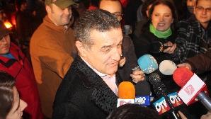 George Becali a venit la sediul PSD
