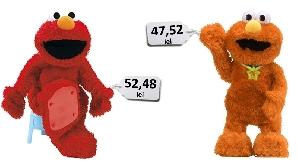 Păpuşile roşii sunt mai scumpe