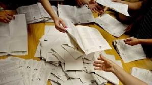Numărătoarea voturilor din Bacău