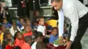 Obama le-a spus micuţilor o poveste.