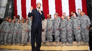 Barack Obama şi trupele americane