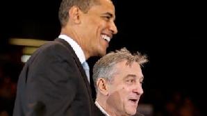 Barack Obama şi Robert De Niro