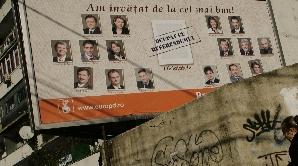 Panouri, bannere electorale