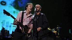 Paul McCartney şi Ringo Starr îşi aduc aminte de tinereţe