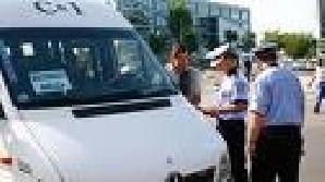 Poliţiştii sibieni au organizat filtre astăzi pentru prevenirea turismului electoral