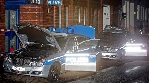 Secţii de poliţie au fost atacate la Berlin şi la Hamburg