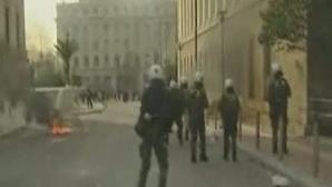 Proteste violente Grecia