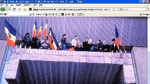 Colinde pentru martirii Revoluţiei în Piaţa Mare din Sibiu