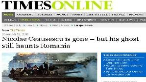 România a intrat în vizorul presei străine