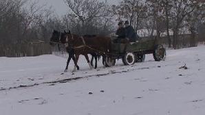 Un sat din Buzău a stat izolat până miercuri.