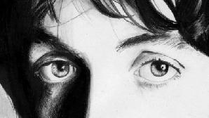 Paul McCartney într-o versiune stilizată