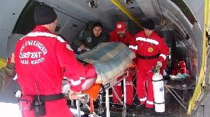 Mai multe intervenţii ale elicotperelor SMURD au fost anulate din cauza condiţiilor meteorogice