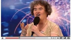 Susan Boyle a avut cele mai multe vizite pe YouTube în 2009.