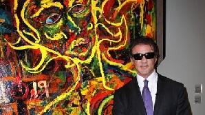 Sylvester Stalone şi-a lansat prima expoziţie