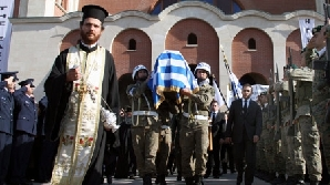 Cadavrul lui Tassos Papadopulos a fost furat dintr-un cimitir de la Nicosia / FOTO: news.xinhuanet.com