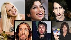 Topul celor mai urâte celebrităţi/Foto: oddee.com