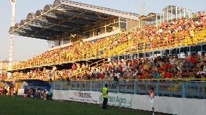 Stadionul Municipal Gloria - Bistriţa - tribuna I