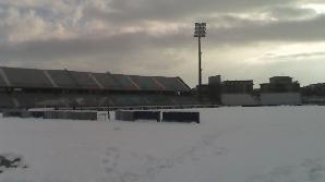 Mai multe meciuri din Europa au fost amânate din cauza zăpezii