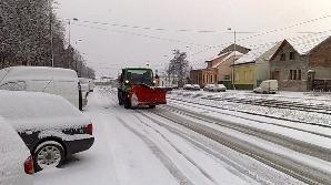 România, blocată din cauza zăpezii