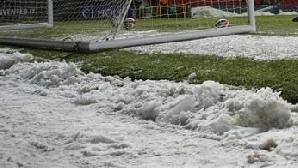 Terenul lui Wigan este în stare perfectă, dar nu se poate ajunge la stadion