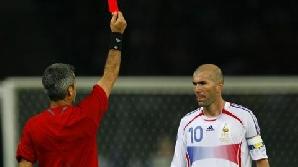 Zidane s-a retras din activitate după ce a fost eliminat în finala CM 2006