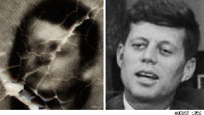 JFK se distra pe iaht în compania unor femei goale