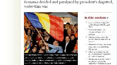 Presa străină este pesimistă faţă de viitorul României
