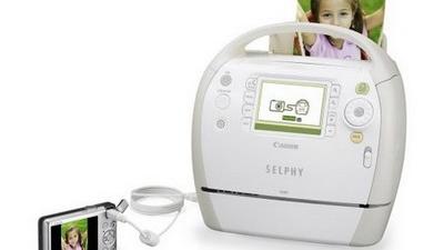 SELPHY ES40 - imprimanta foto cu ghidare vocală