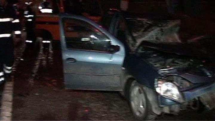 Un accident grav s-a produs pe DN1 luni noapte