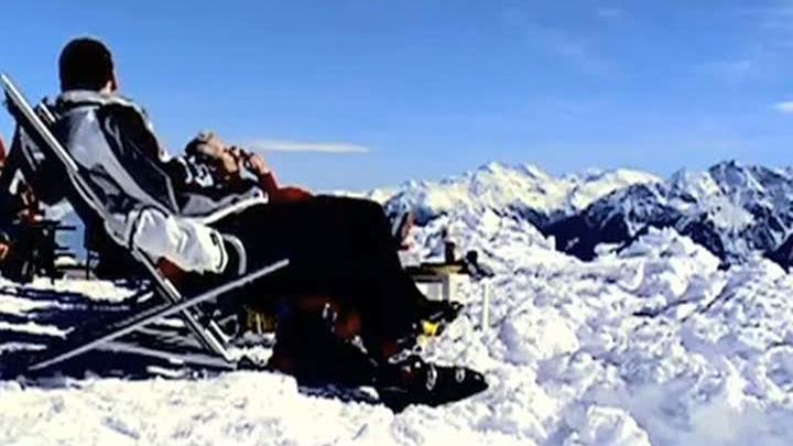 Vedetele au ales alpii pentru a trece în Anul Nou