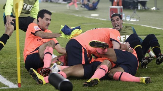 Barcelona a intrat în istoria fotbalului, câştigând 6 trofee într-un an