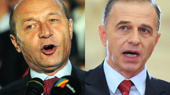 Traian Băsescu îl cheamă pe Mircea Geoană la OTV