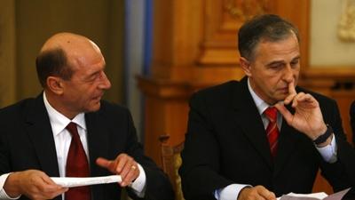 Sibiu: Băsescu - 61,08%, Geoană - 38,92%