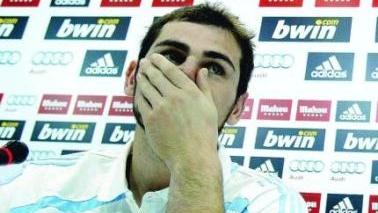 Casillas a rămas calm în faţa insultelor