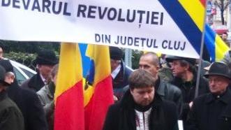 Peste 100 de clujeni au participat la comemorarea victimelor revoluţiei din 1989