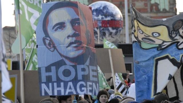 Laureatul Nobel Obama a dezamăgit o întreagă planetă la Copenhaga.