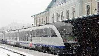 Tren iarna