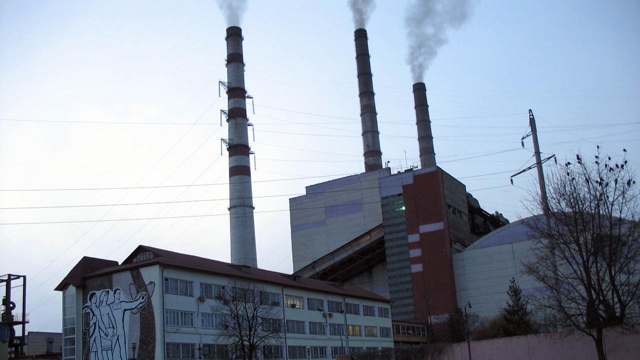 Centrala termo-electrică de la Burshtynka / FOTO: panoramio.com