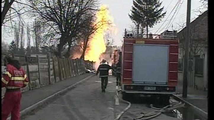 incendiu Sibiu