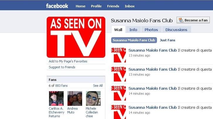 Mesajele de pe Facebook au stârnit indignare în rândul multor italieni.