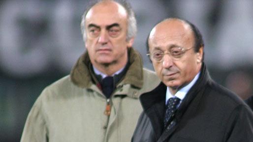 Antonio Giraudo (foto stânga) plăteşte pentru Calciopoli