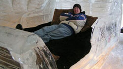 O cameră la Ice Hotel costă 200 de euro pe noapte